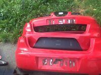 Seat Ibiza bumpers