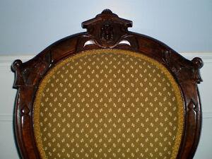 Antique Victorian Settee with matching Parlor Chair 1870's era Oakville / Halton Region Toronto (GTA) image 10