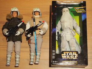 Star Wars Action Fleet and 12 inch Kenner Figures