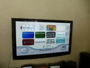 Nintendo Wii console; balance board and games