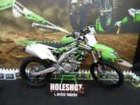 Kawasaki KXF 450 Motocross bike (EFI Fuel injected)