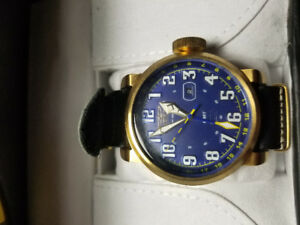 Watch / Montre INVICTA AVIATOR GMT *MINT*