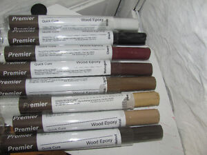 epoxy wood filler 8 colours available.