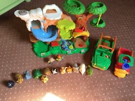 Fisher Price Little People zoo collection