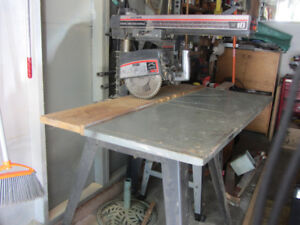 Radial arm saw Craftsman 10""