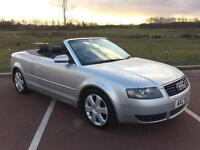 Audi A4 Cabriolet 1.8T SPORT AUTOMATIC