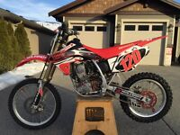 2009 HONDA CRF150RB BIG WHEEL WITH RECLUSE