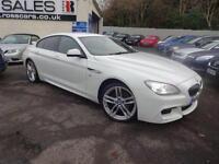 2013 63 BMW 6 SERIES 3.0 640D M SPORT GRAN COUPE 4D AUTO 309 BHP DIESEL