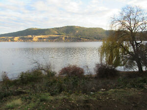 Fabulous Okanagan Lakefront property great views gentle slope
