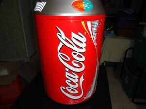 Coke Cola Frig and warmer for home or car.