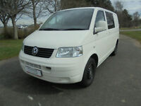 VW T5 Campervan for sale by AV Conversions with side kitchen and 4 travel seats