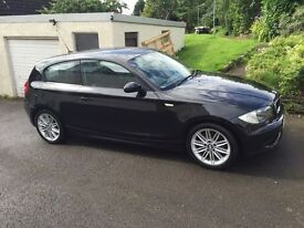 BMW 120d ES .2008. 58 reg. Long MOT . FSH. Only 3 owners from new.