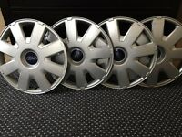 Ford Focus Genuine wheel trims x4