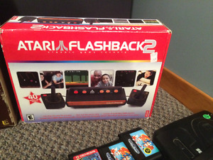 ATARI FLASHBACK 2 COMPLETE IN BOX WORKS GREAT MUST GO