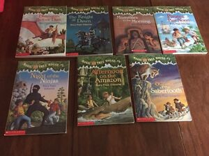 10 Book Magic Tree House Series Lot