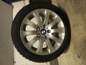 4  Pirelli 225/50 r17 winter tires on BMW rims used on 428x GC