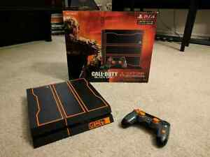 PS4 1 Terabyte Limited Edition COD Black Ops 3 Console