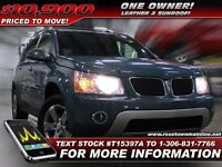 2008 Pontiac Torrent  One Owner | Leather | Sunroof