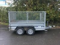 Indespension Twin Axle Caged Trailer