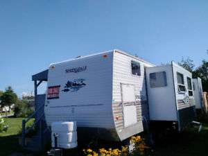 "2006 Springdale 38'6""; Trailer - at Ocean Surf Park, Shediac, NB"