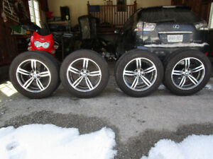 18in.BMW RIMS W/ TIRES