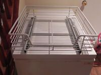 Kitchen cabinet drawer extensions
