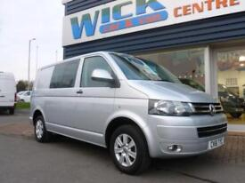 2011 Volkswagen TRANSPORTER T5 T30 TDI 140 KOMBI HIGHLINE *5 SEATER* Manual Crew