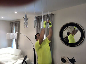 Chandeliers lights installation Oakville / Halton Region Toronto (GTA) image 1