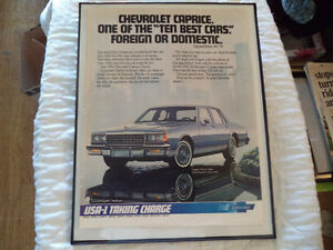 OLD CHEVY CLASSIC CAR ADS Windsor Region Ontario image 4