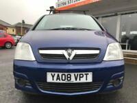 2008 Vauxhall Meriva 1.6 i 16v Life 5dr