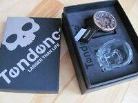 Tendence Skull Watch Set With Skull Shot Glass New In Box