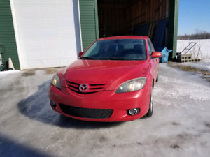 Mazda 3 2005 Automatique 143 000KM