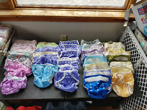 Large cloth diaper lot