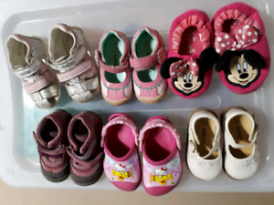 Girl toddler shoes $3 each