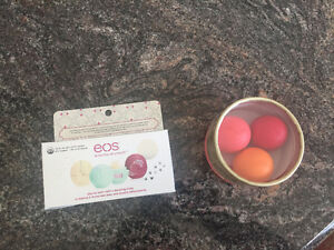 Two eos pacs of three