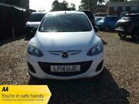2014 (14) White 5 Door Mazda 2 COLOUR EDITION Manual Petrol