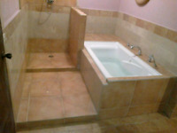 Tile and stone installation