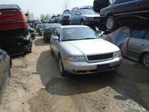 We are now Dismantling this Audi A4 1.8T 2000 Quattro