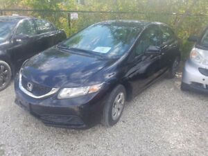 2014 Honda Civic LX - CERTIFIED! 66,000KMS! WE PAY HST SALE!