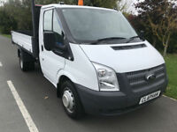 2014 14 FORD TRANSIT TIPPER 2.2TDCI 350 125BHP S/C 16,000 MILES ANY UK DELIVERY