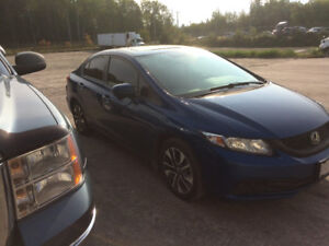 2014 Honda Civic Ex certified  take over payments