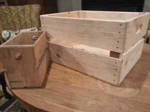 Wooden Crates - handmade solid wood appleboxes Kitchener / Waterloo Kitchener Area image 5