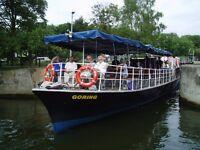 CREW, Salter's Passenger Boats