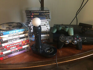 PS3 320GB Move Bundle with 25 Games