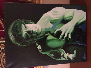 Hulk Lou Ferigno signed by artist Car Gill West Island Greater Montréal image 1