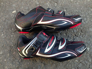 Road/MTB shoes, CCM helmet in great condition