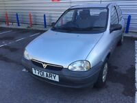 Vauxhall Corsa 1.0 Petrol 3Dr 1999 Low Miles