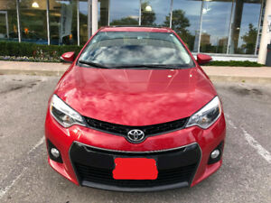 2016 Toyota Corolla S - Highest Premium Package - Amazing Condit