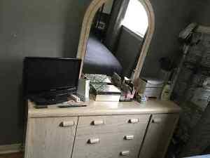 LARGE DRESSER AND MIRROR London Ontario image 1