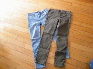 Pantalons adolescente ou femme